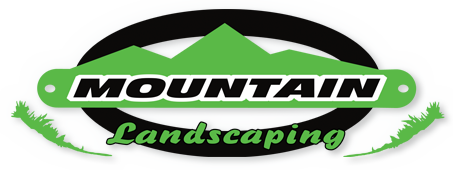 Mountain Landscaping Logo